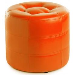 Пуф-7 оранжевый