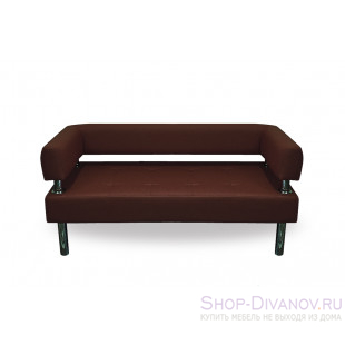 Диван Бизнес коричневый