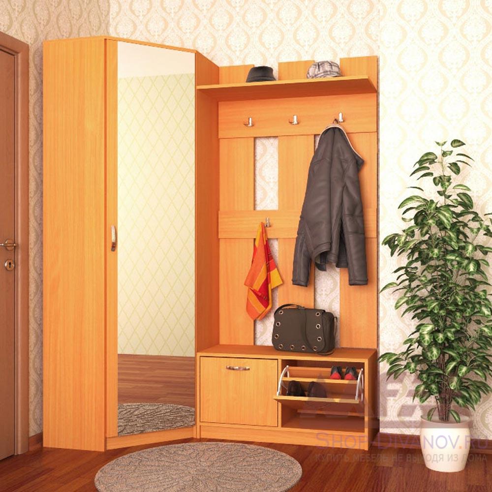 Угловой шкаф в коридор