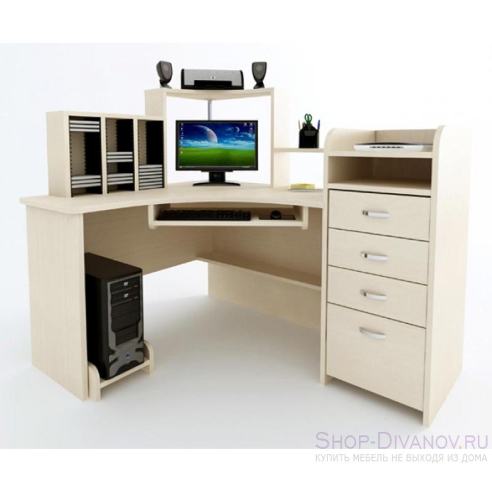 """Компьютерный стол """"компас 225"""" - дешево с фабрики."""